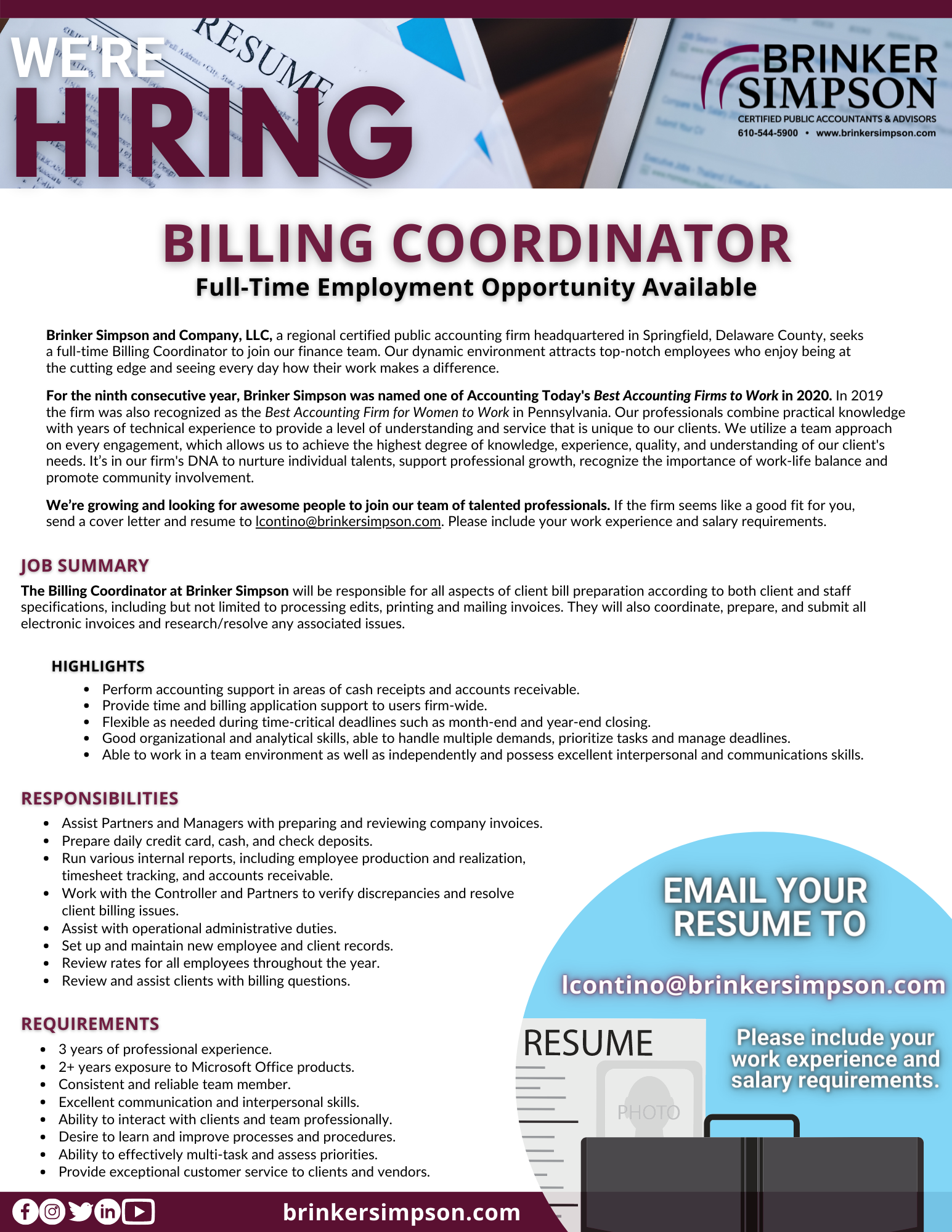 BillingCoordinator_Flyer